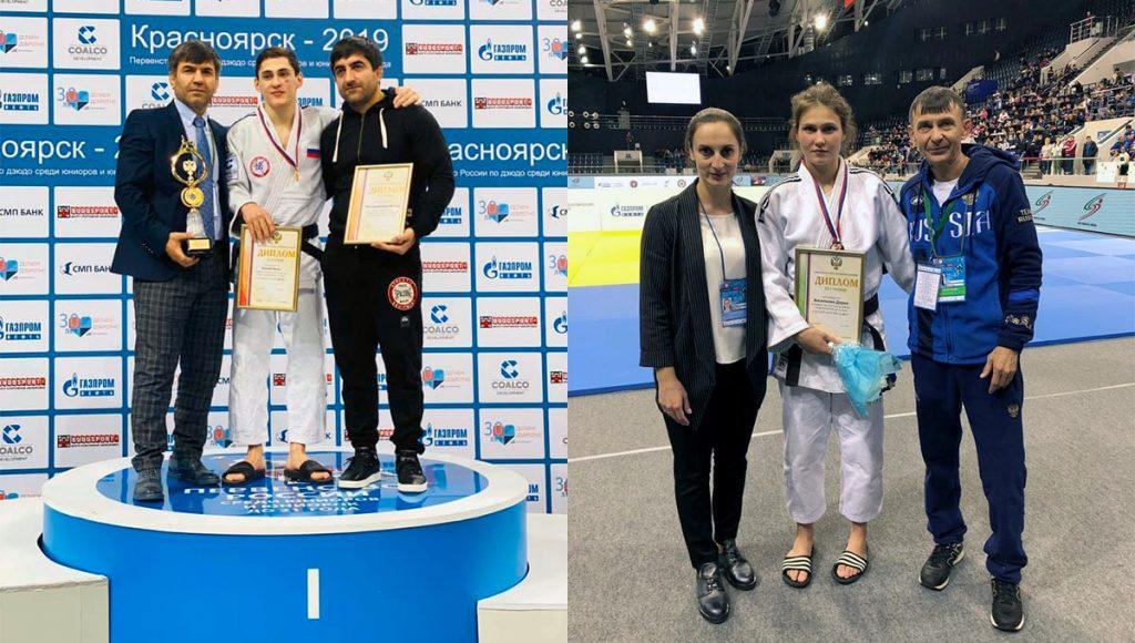 Золото и бронзу завоевали дзюдоисты Иркутской области на первенстве России в Красноярске