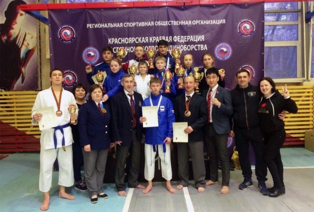 28 медалей завоевали спортсмены Приангарья на чемпионате и первенстве СФО по карате сётокан