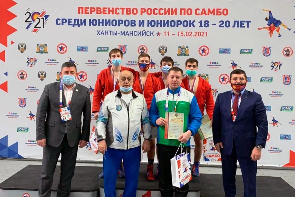 Андрей Онищенко из Усть-Илимска примет участие в первенстве Европы по самбо