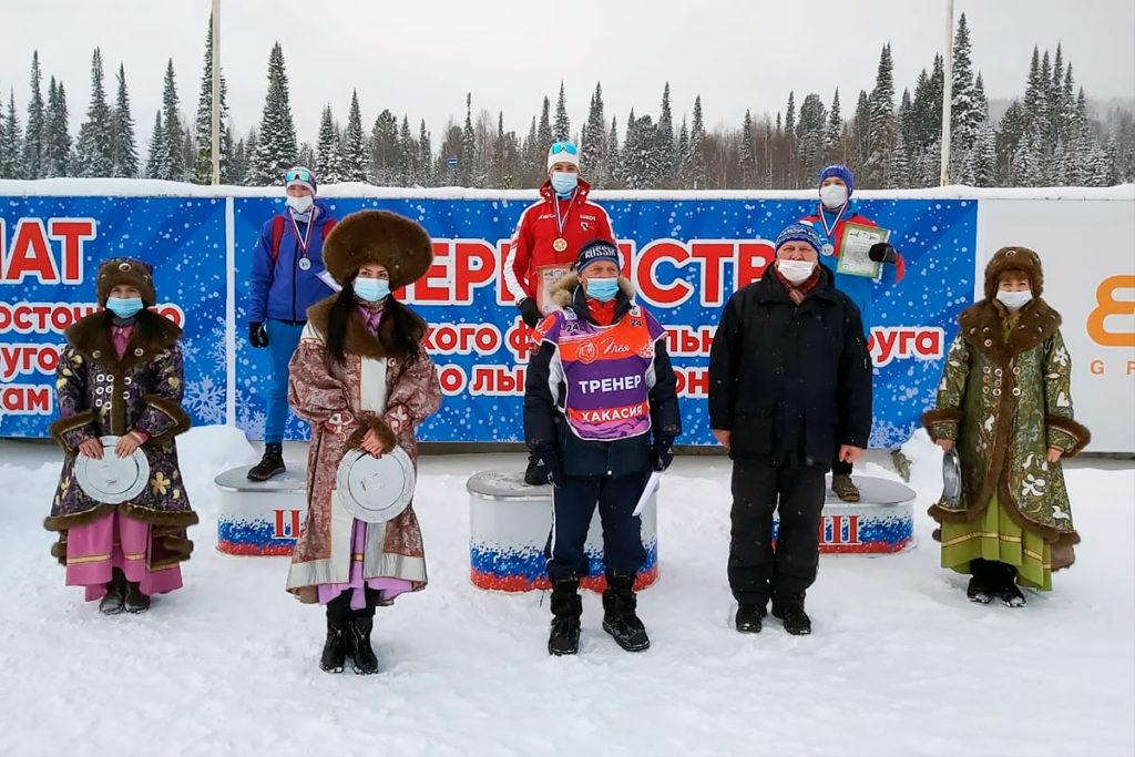 Егор Кривошеев стал двукратным бронзовым призёром первенства СФО по лыжным гонкам