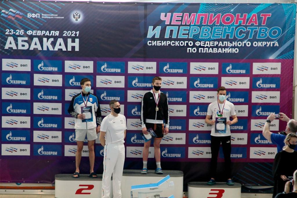 15 медалей завоевали пловцы Приангарья на чемпионате и первенстве Сибири в Абакане