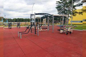 В Усольском и Качугском районах установлены малые спортивные площадки ГТО