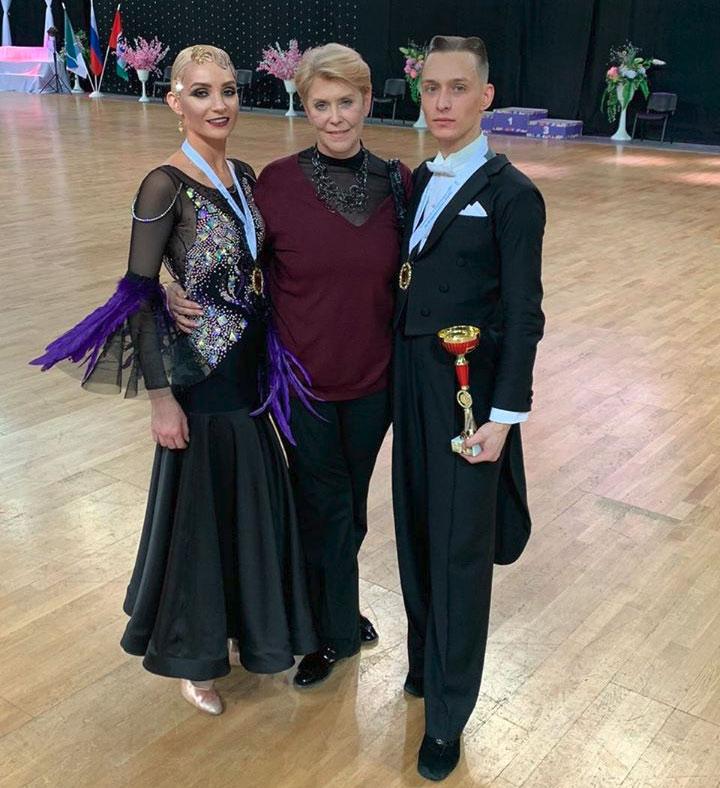 Дмитрий Портнов и Юлия Варфоломеева стали обладателями чемпионского титула чемпионата СФО по танцевальному спорту