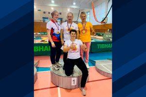 Четыре медали выиграли пауэрлифтеры Иркутска на чемпионате России по спорту слепых