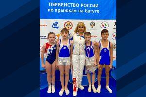 Марк Шапиро стал серебряным призёром первенства России по прыжкам на батуте