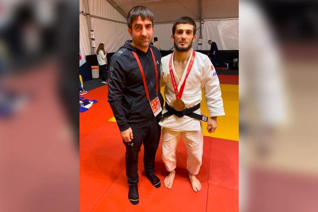 Рамазан Абдулаев стал бронзовым призером международного турнира по дзюдо «Большой шлем»