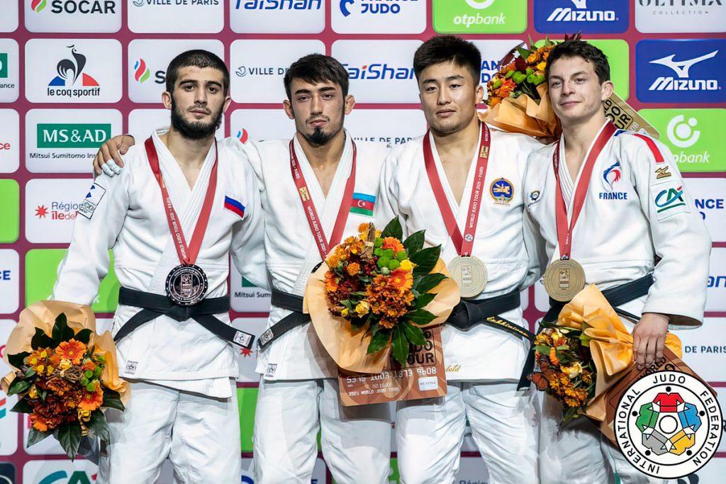 Рамазан Абдулаев завоевал серебряную медаль на международном турнире по дзюдо «Большой шлем»