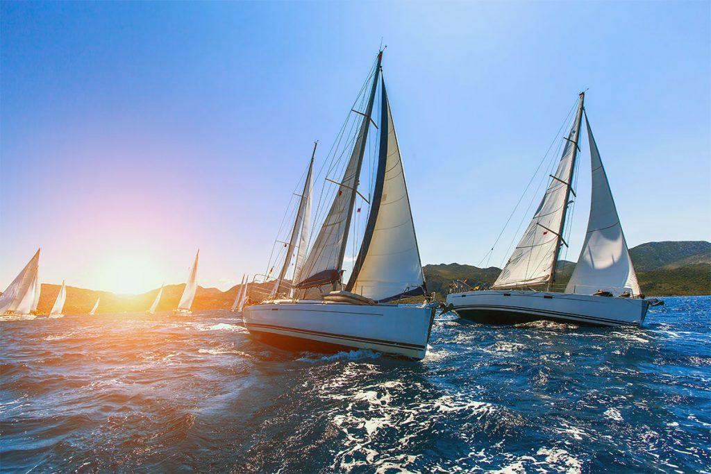 Парусная регата «Бархатная осень» традиционно завершила сезон соревнований яхтсменов в Иркутске