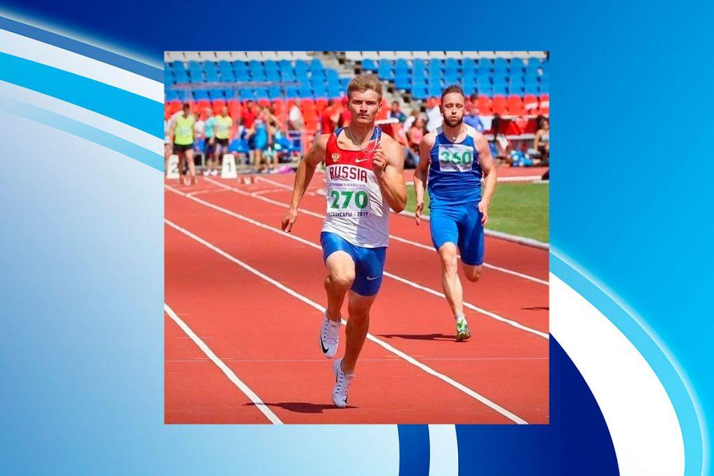 Роман Тарасов завоевал золотую и серебряную медали на чемпионате Европы по лёгкой атлетике