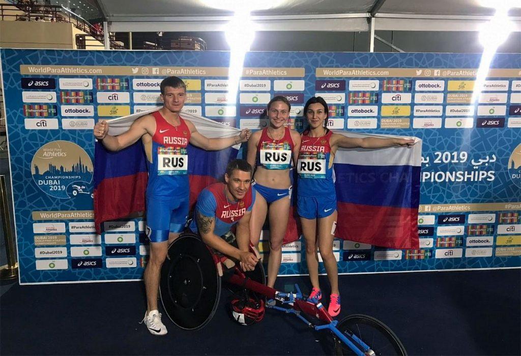 Саянский легкоатлет в составе российской сборной завоевал бронзу на чемпионате мира в Дубае