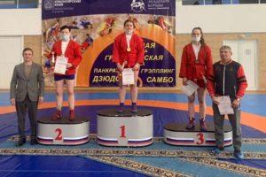 Пять медалей выиграли самбисты Приангарья на втором этапе V Спартакиады молодёжи России