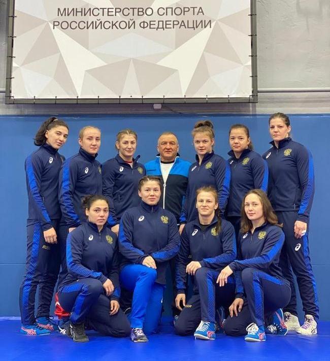 Екатерина Букина вошла в состав сборной России для участия в Кубке мира по вольной борьбе