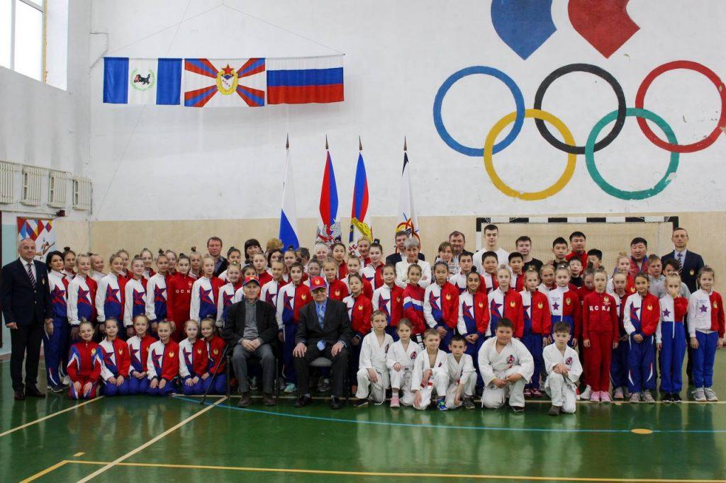 Торжественное мероприятие для маленьких спортсменов ЦСКА