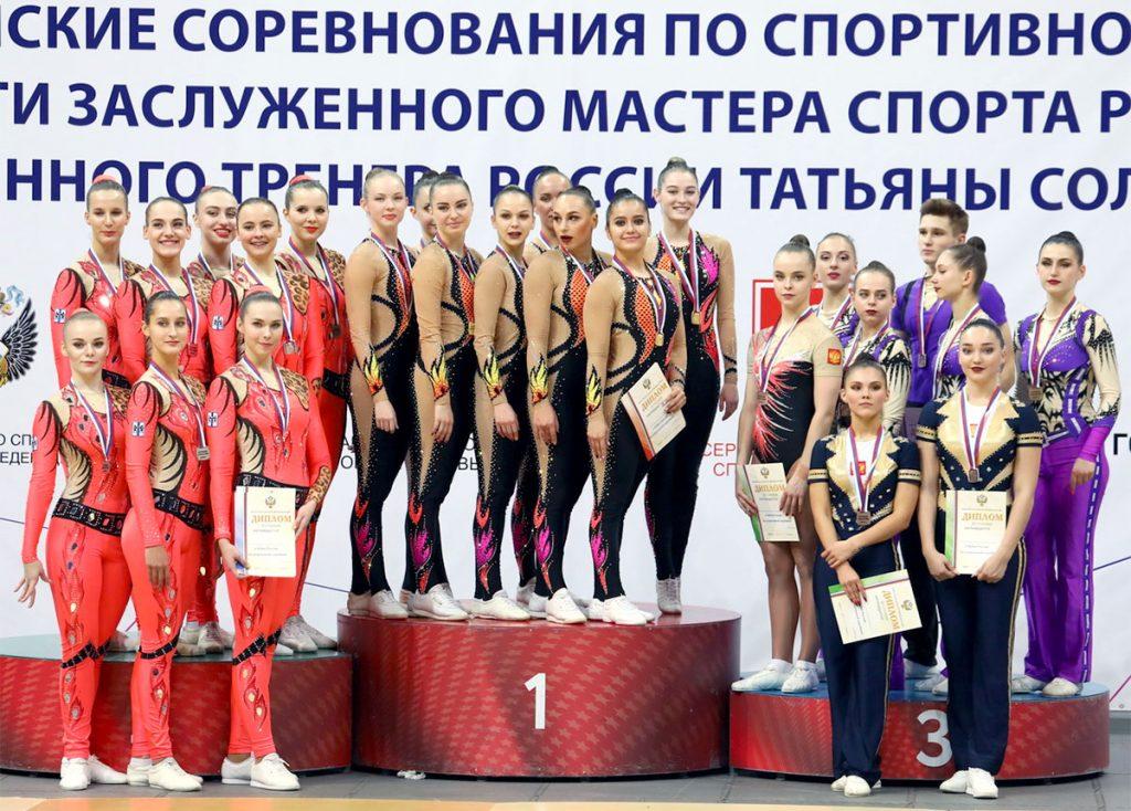Гимнастки из Приангарья завоевали золото на Кубке России по спортивной гимнастике