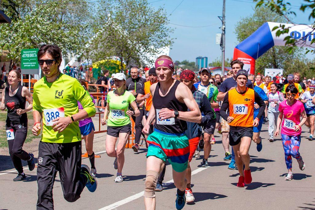 Благотворительный забег «Спорт во благо» 29 мая пройдет в Иркутске