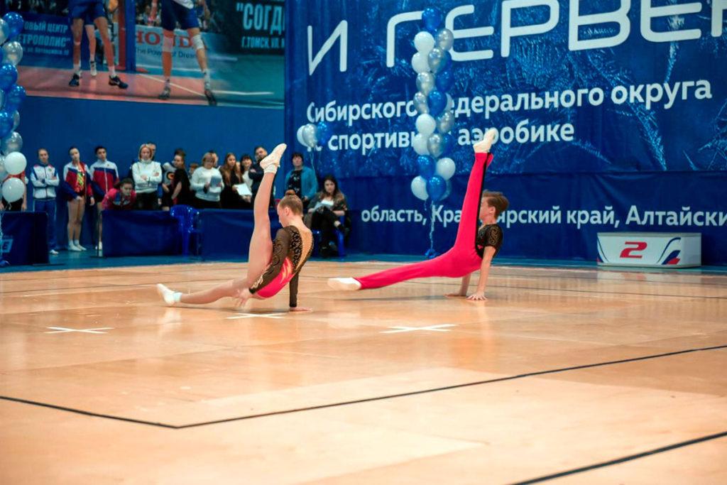 Команда Иркутской области успешно выступила на чемпионате и первенстве СФО по спортивной аэробике