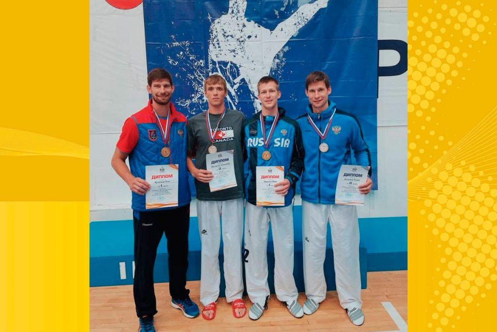 Четыре медали выиграли единоборцы Иркутской области на чемпионате СФО по тхэквондо