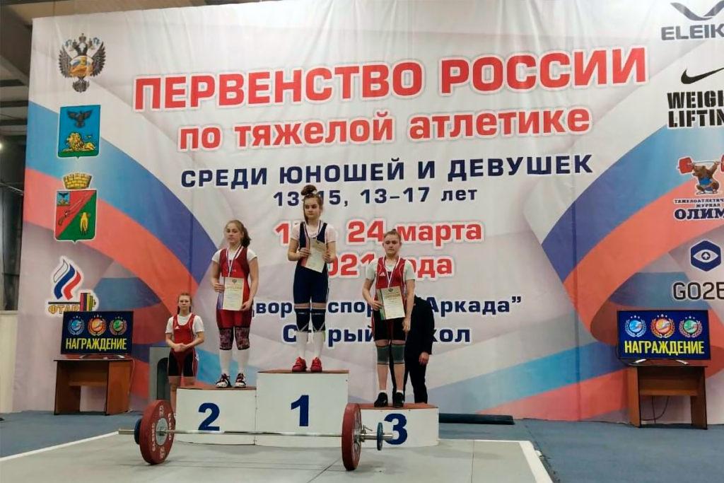 12 медалей завоевали тяжелоатлеты Иркутской области на первенстве России