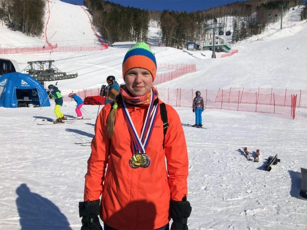 Варвара Ворончихина стала абсолютной чемпионкой России по горнолыжному спорту среди лиц с ПОДА