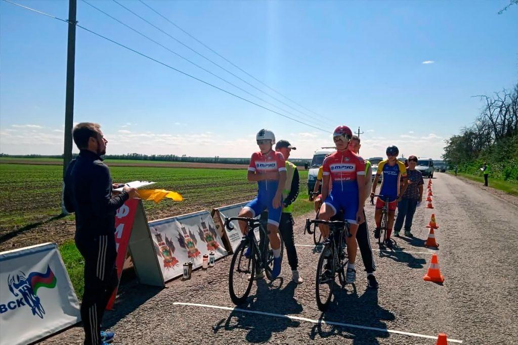Велосипедисты Иркутской области заняли третье место в парной гонке на первенстве России