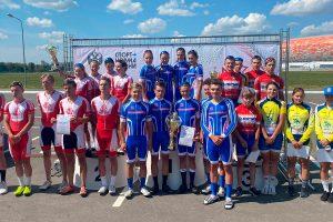 Третье место заняла сборная Иркутской области на соревнованиях по велоспорту-шоссе V летней Спартакиады молодежи России
