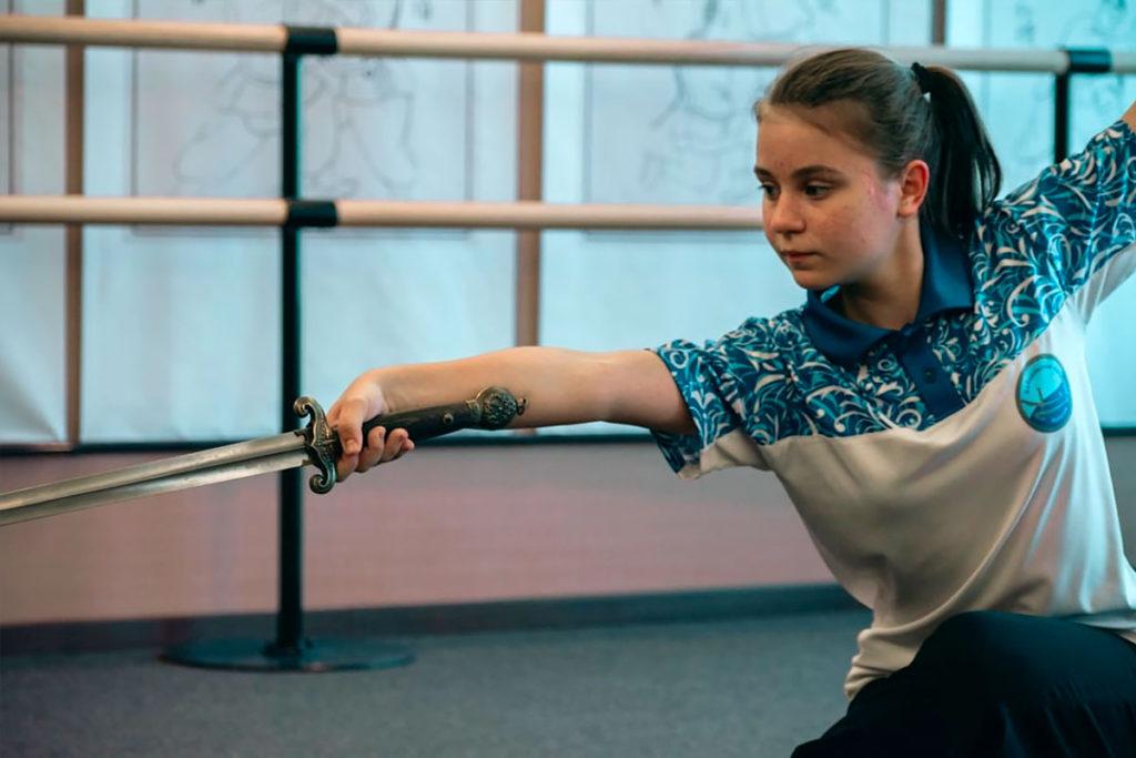 Вероника Семёнова завоевала серебряную медаль на первенстве России по традиционному ушу