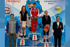 Екатерина Володько и Андрей Сычёв стали вторыми на Кубке России по жиму